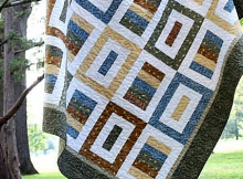 Simply Pieceful Quilt Pattern