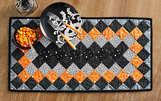 Spellbinding Table Runner Pattern
