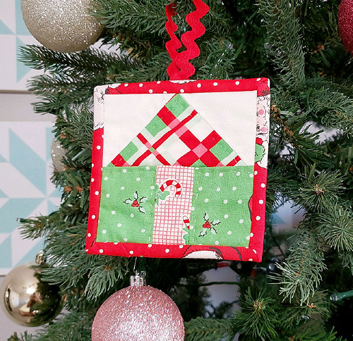 Oh, Christmas Tree Ornaments Pattern