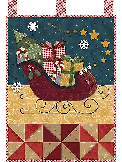 December Little Blessings Wall Hanging Pattern