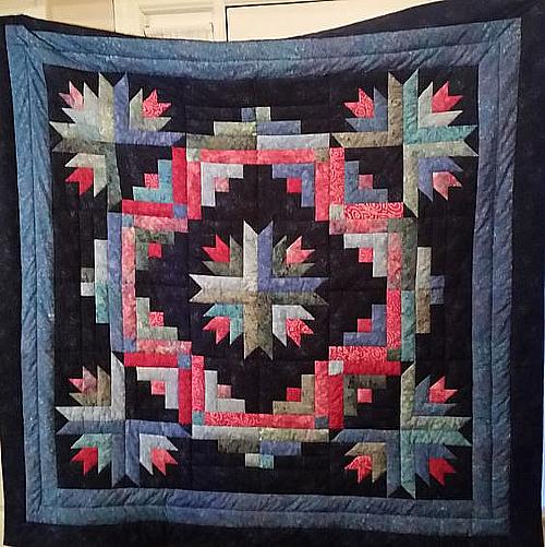 Cactus Wreath Quilt Pattern