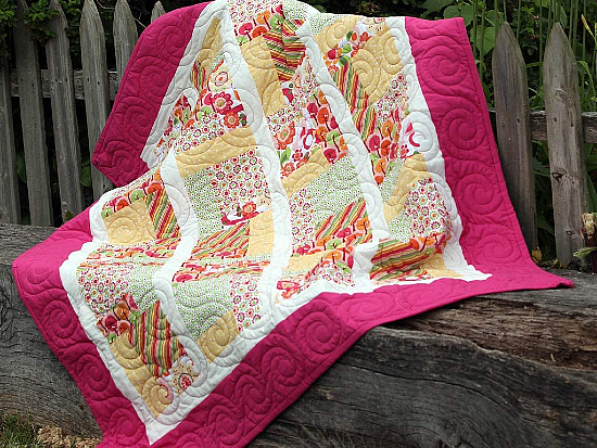 Midnite Reflections Quilt Pattern