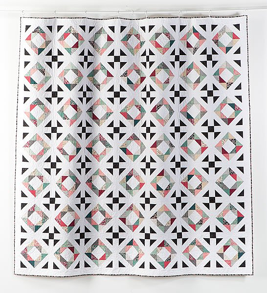 Diamonds and Pearls Quilt Pattern