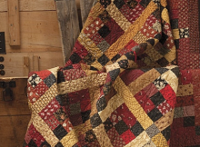 Red Red Wine Quilt Pattern