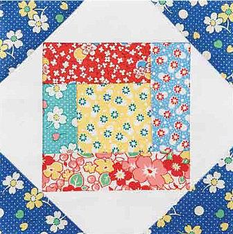 Bundle of Scraps Table Topper Pattern