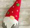 Felt Gnome Ornament Pattern