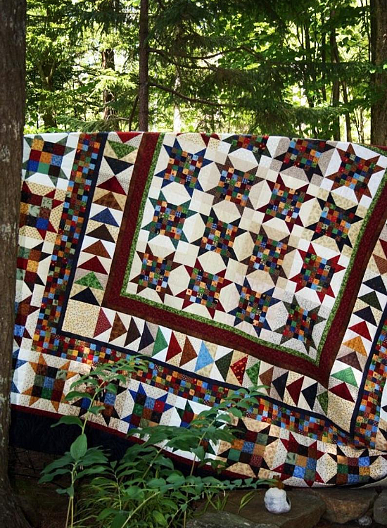 Square Dancing With The Stars Quilt Pattern