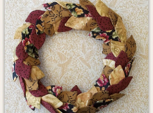 Leaf Wreath Pattern