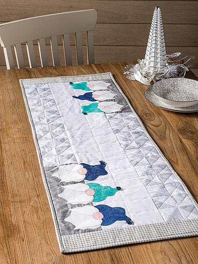 Gnomes Table Runner Pattern