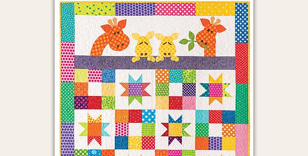Good Night Baby Quilt Pattern