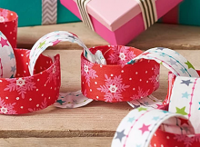 Make a Fabric Chain Garland to Enjoy for Years