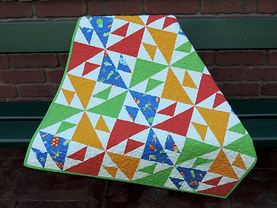 Bright Baby Quilt Pattern