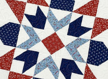 Star Spangled Quilt Pattern