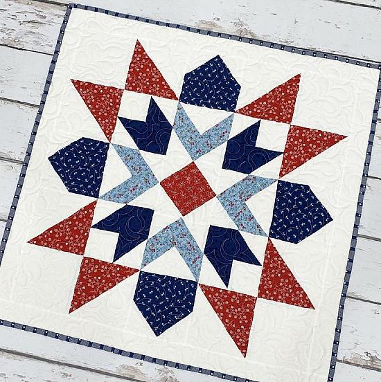 Star Spangled Quilt Pattern