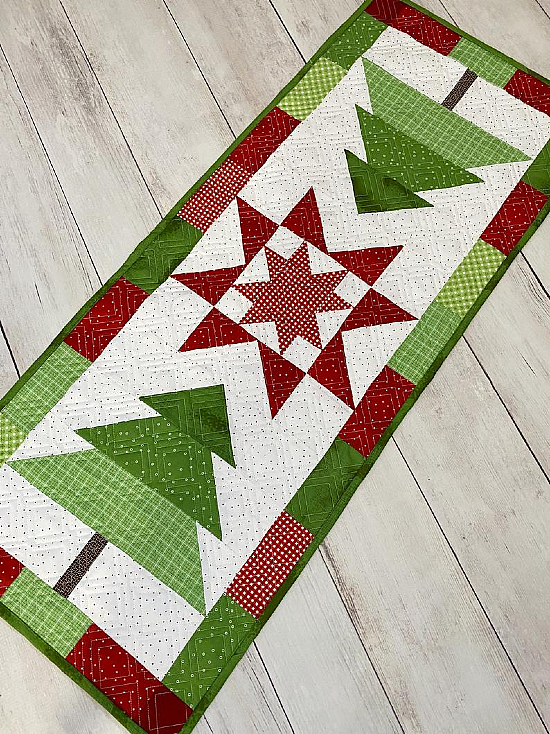 Trim the Tree Table Runner Pattern