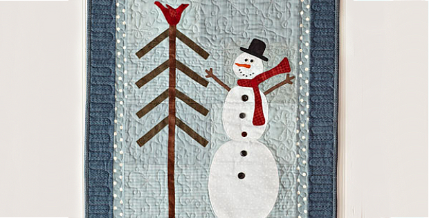 Winter Flurries Wall Hanging Pattern