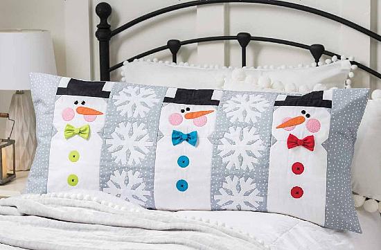 Winter Friends Bench Pillow Pattern