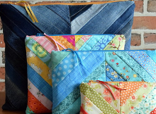 Make Charming Scrappy Pouches of Any Size