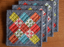 Granny Square Coasters Pattern