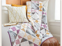 English Trellis Quilt Pattern