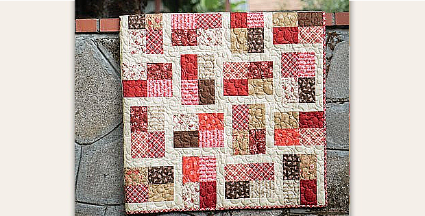 The Quilt in the Hat Quilt Pattern