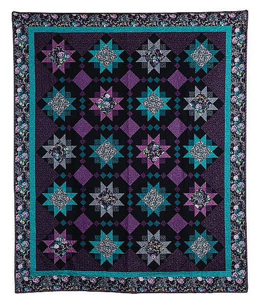 Midnight Star Quilt Pattern