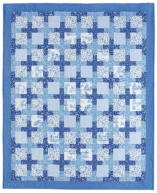 China Blue Quilt Pattern