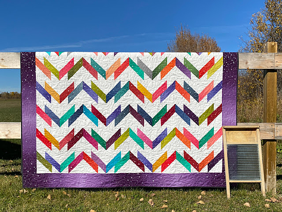Washboard Road Quilt Pattern