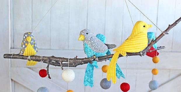 Marbler Bird Sewing Pattern