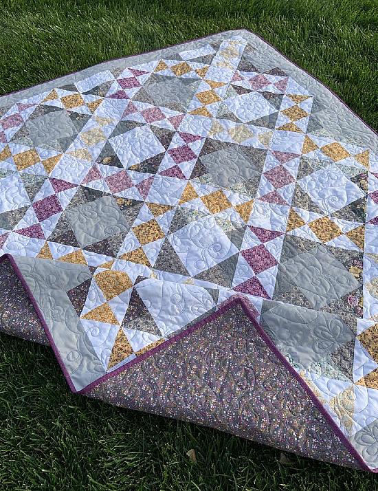 English Trellis Quilt Pattern