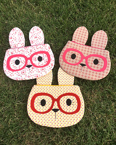 Bunny Zippy Critter Sewing P