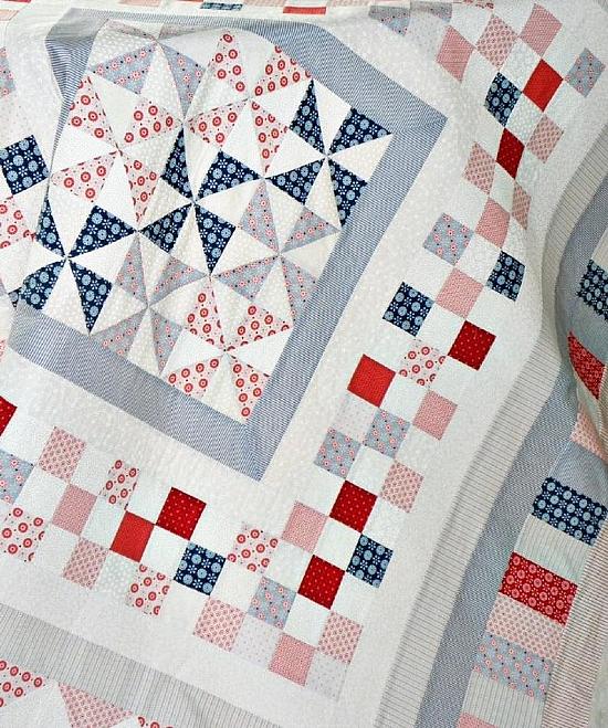 Tilda Northern Lights Quilt Pattern