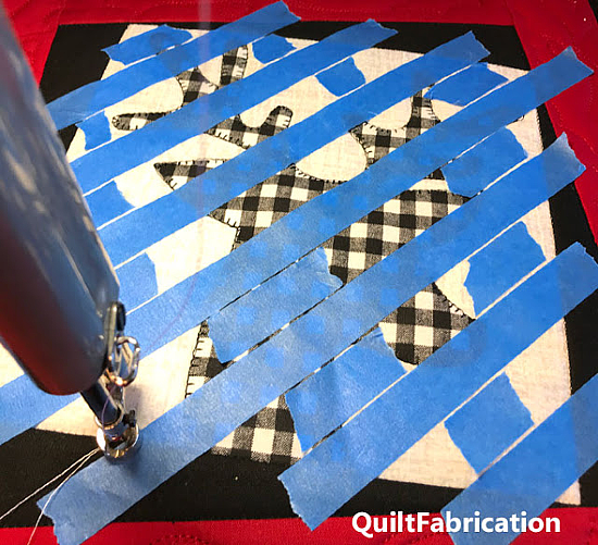 Get Beautiful FMQ Results with Tape