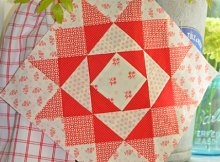 Starry Eyed Quilt Block Pattern