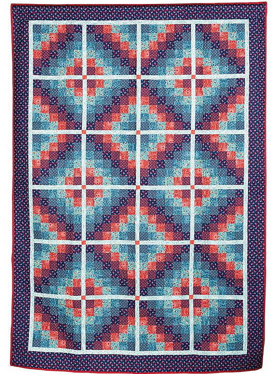 Six Diamonds Quilt Pattern