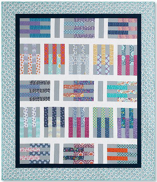 Pick Up Sticks Quilt Pattern