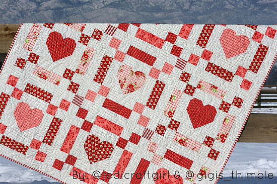 Chains of Love Quilt Pattern