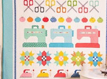 Sew By Row Quilt Pattern