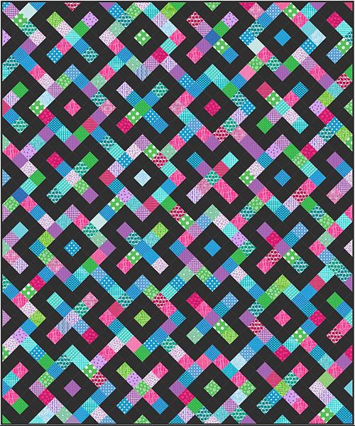 Kookie Kisses Quilt Pattern