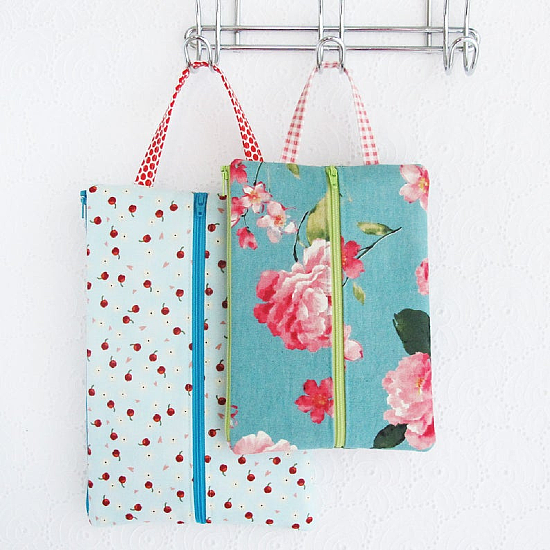 Double Zip Tool Pouches Pattern
