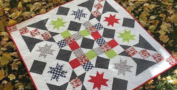 Parachutes Quilt Pattern