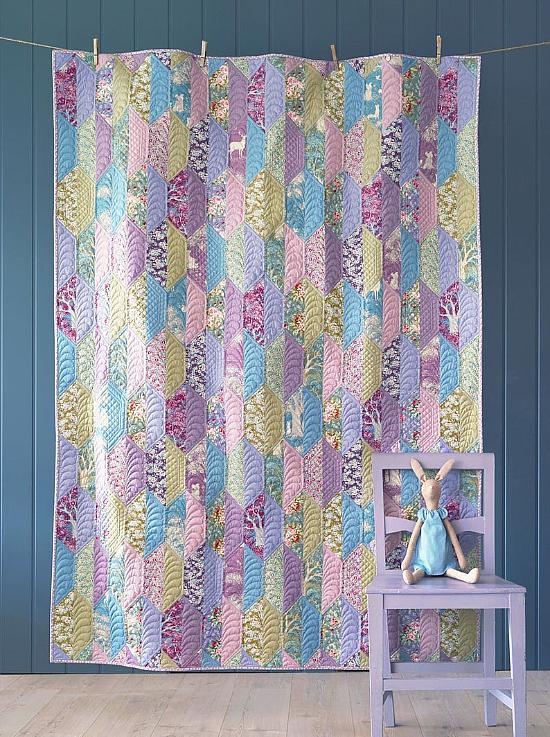 Woodland Foliage Quilt Pattern