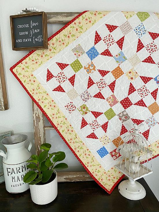 Prairie Patches Quilt Pattern
