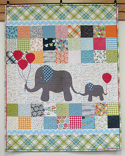 Mommy & Me Baby Quilt Pattern
