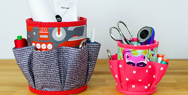 Number 10 Caddy Sewing Pattern
