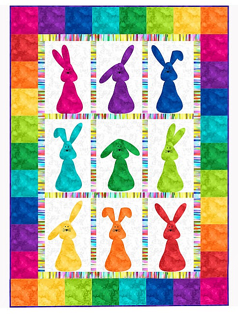 Bunnies Galore Quilt Pattern