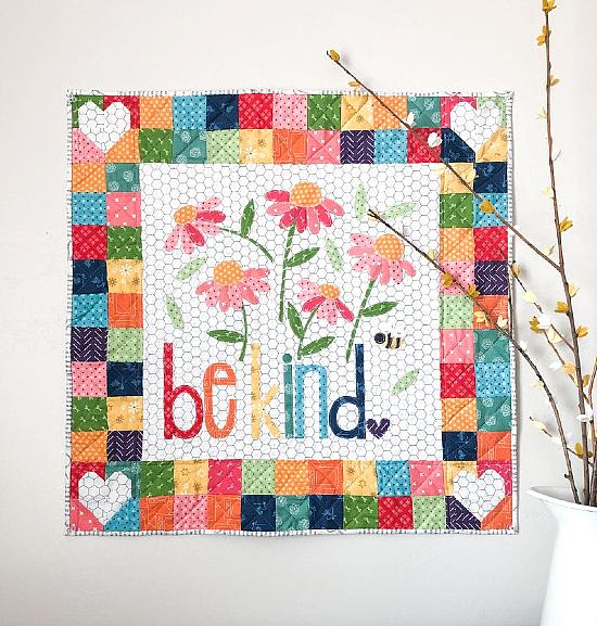 Be Kind Mini Quilt Pattern