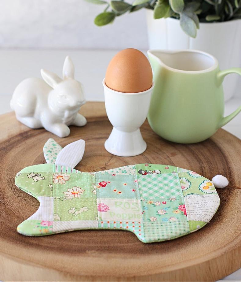 Bunny Coaster Pattern