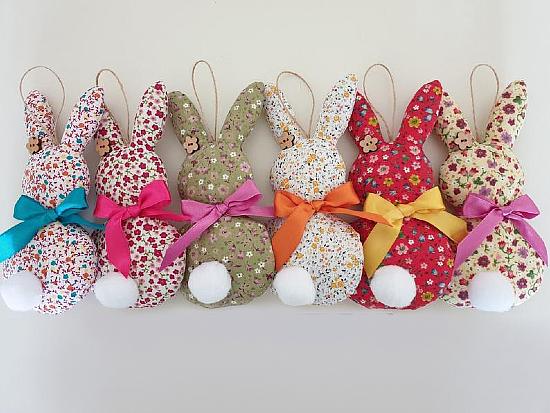 Hanging Rabbit Sewing Pattern