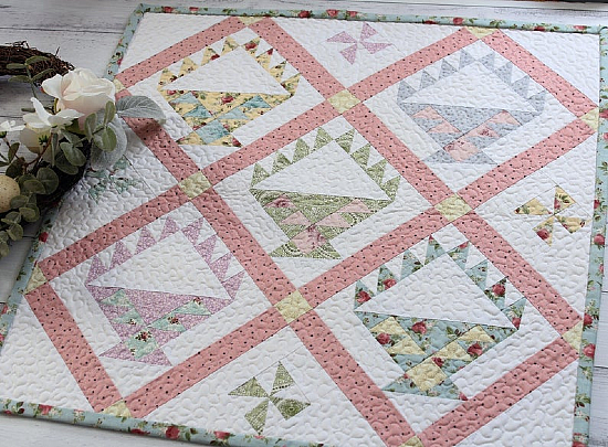 Easter Picnic Mini Quilt Pattern